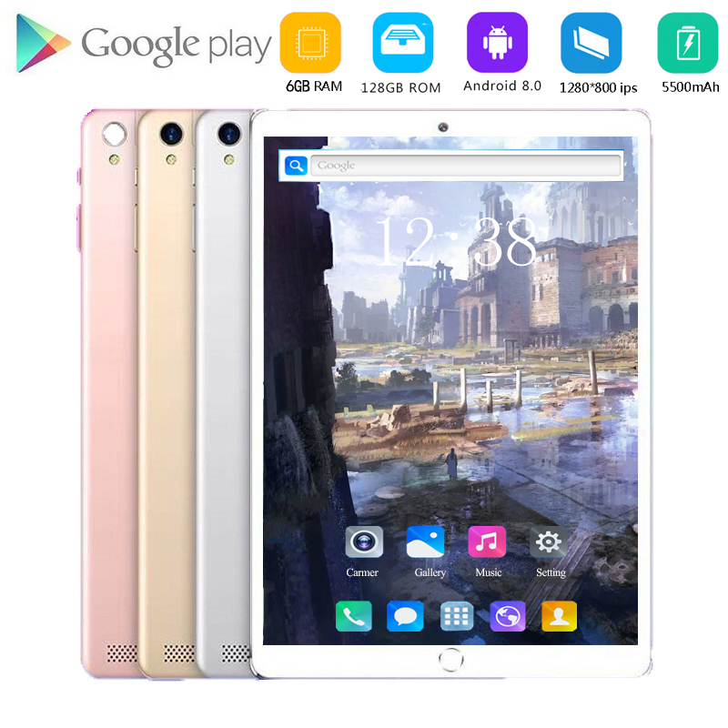 2020 Free Shipping 10.1 Inch Tablet Pc 4G LTE Dual SIM Card 1280*800 Resolution Android 8.0 Tablet Kids Gift With Google Store