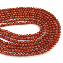 2019 Natural Stone coral beads Round shape loose isolation for Jewelry Making  DIY bracelet necklace Accessories