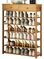 5% простой домашний стеллаж для обуви многослойный пыленепроницаемый маленький шкаф для обуви из цельного дерева экономичный модный просто...