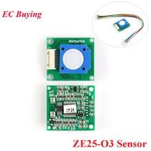ZE25 O3 ozon ölçer O3 sensörü modülü gaz sensörleri ozon monitör 0 10ppm UART/Analog voltaj/PWM dalga 3.7 ila 5.5V ZE25 O3