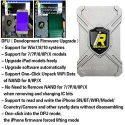 IRepair P10 DFU BOX für iPhone 6 7 8 X Seriennummer Lesen Schreiben Sie Auspacken WiFi und alle Andere Syscfg Daten Keine Demontage