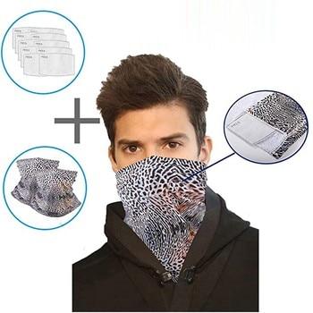 2pcs women mask scarf multi-purpos