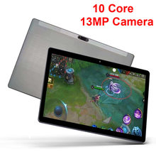 Newest 4G Network Tablet 10.1 Inch Android Cheap Tablet GPS 6000mAH MT6797 10 Core 1280x800 IPS Gaming 13MP Camera Tablet 10