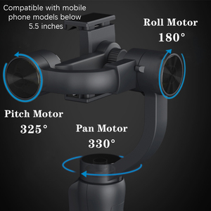 Image 4 - Orsda 3 Assi Handheld Stabilizzatore Gimbal Smartphone Del Telefono Zoom Manuale Viso di Monitoraggio Per iPhone11 Pro Plus S9 S8 Gopro Macchina Fotografica