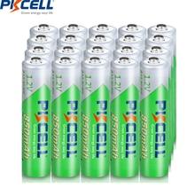 20個pkcell aaaバッテリー充電式バッテリー850mah 1.2v aaaニッケル水素ため事前充電式バッテリー3Aカメラflashlig