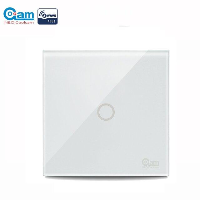 NEO COOLCAM Z wave plus 1CH EU Wall Light Switch Home Automation ZWave Wireless Smart Remote Control Light Switch