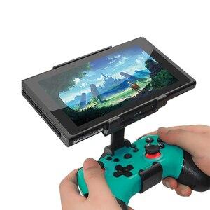 Image 5 - Nintend Schalter Konsole NS Lite Mini Smart Clip Clamp Halter Stand Halterung Spiel Unterstützung Für Nintendo Schalter Pro Controller