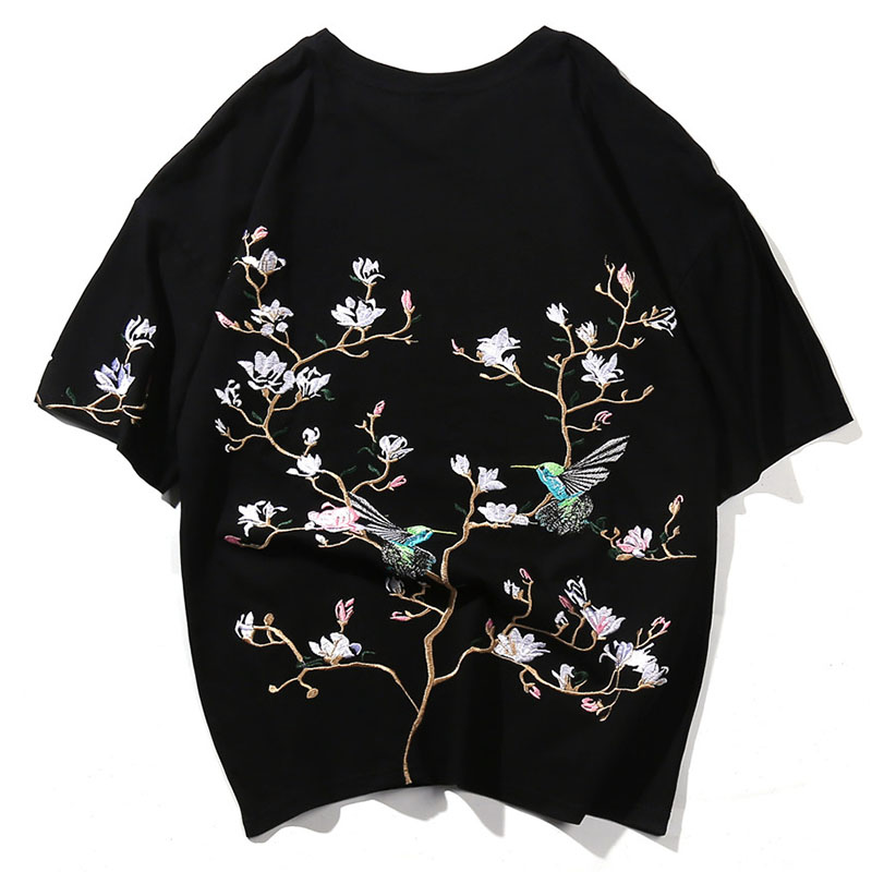 Summer Women's Short Sleeve Tee Solid Casual Plus Size Women Loose Tshirt Embroidery Street Punk Style Top Harajuku Cute HH50DX