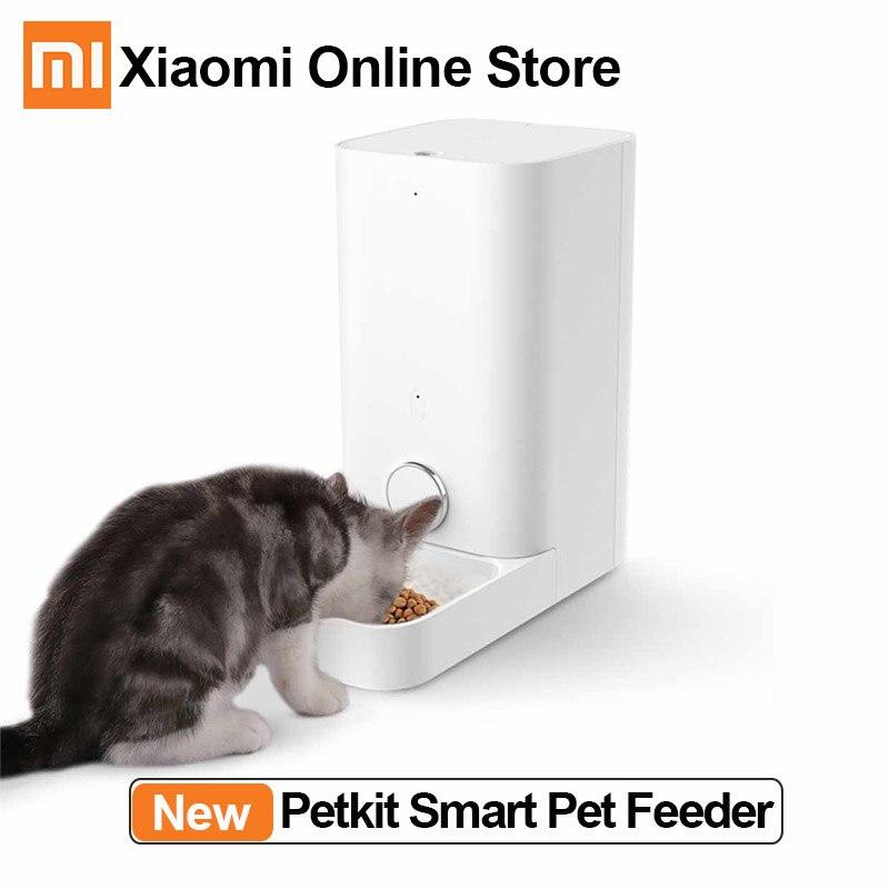 Xiaomi Petkit Smart Cat Feeder Mini Fresh Pet Food Dispenser Cats Feeder Washable Automatic Bowl High-tech Pet Feeding Machine