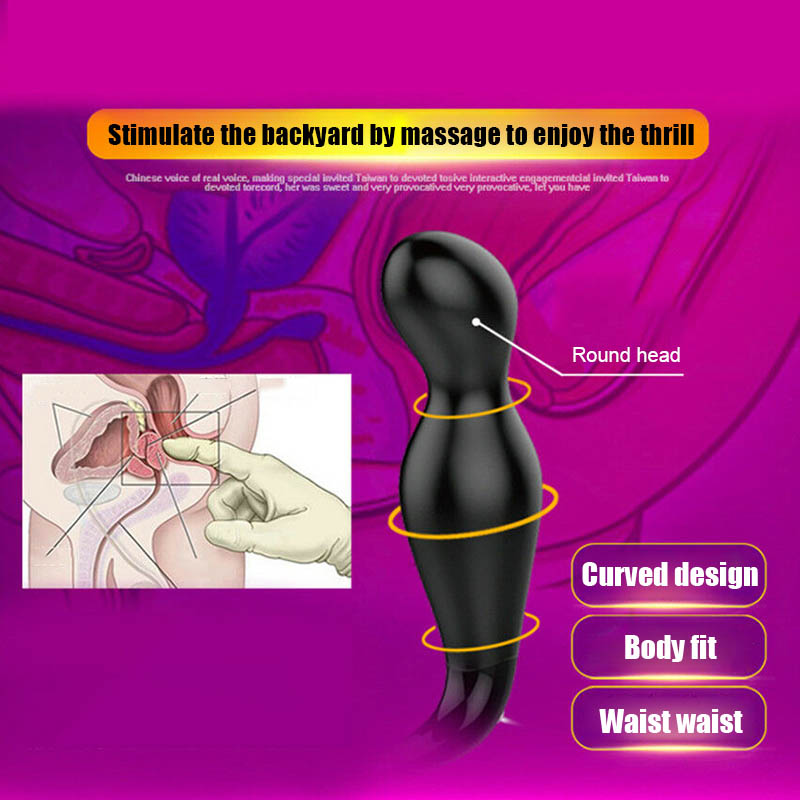 Good Healthy Men Prostate Massager Vibrator USB Rechargeable 12 Speed Vibrating Men Sex Toy