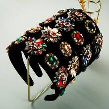 Женская повязка на голову с жемчугом многослойная из кружева