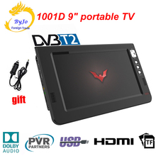 Tv-Player ATSC Portable Tv Mini DVB-T Digital LEADSTAR 9inch T2 USB Analog LED HDMI AC3