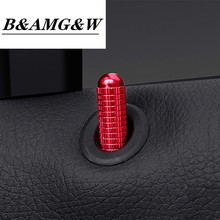 Car Styling For Mercedes Benz A B GLA CLA Class W176 X156 C117 door pin decoration cover Stickers trim Interior Auto Accessories