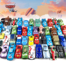 Disney Pixar Cars 2 3 Lightning McQueen Jackson Storm Doc Hudson Mater 1:55 Diecast Metal Alloy Model Car Boy Birthday Gift Toys