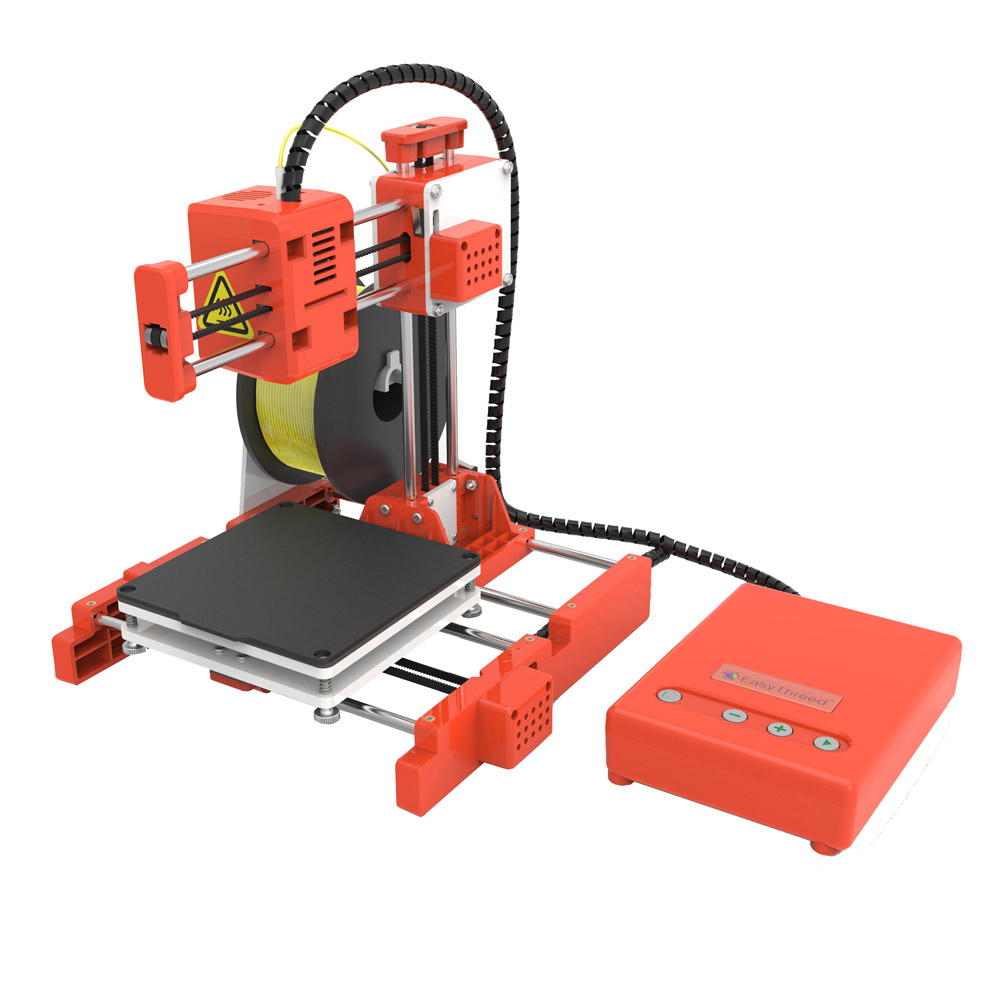 Mini Portable  Kids 3D DIY Printer for Household Education 30