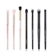Makeup Brush Black Nylon Hair Eye Shadow Brush Black Color Wooden Handle