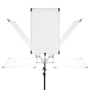 Image 3 - 27cm 1/4 Schraube Metall Sonne Gelege LED Licht Blitzgerät Halterung Halter