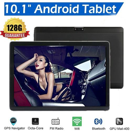 10.1 Inch Dual Sim 4G Smartphone Tablet PC  WIFI Android 8.1 Octa Core 6G +128GB Tablet  Dual Camera 4G Phone Pad Wifi Tablet PC