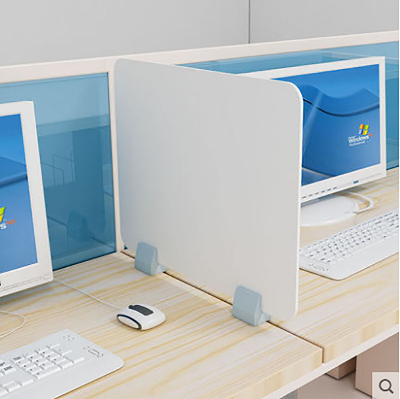 Office Desk Table Partition Screen Antispray Plastic Divider Protection Barrier Counter Acrylic Sneeze Guard Shield For Counter