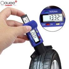 Digital Car Tire Thickness Gauges Depth Gauge Tyre Tire Tread Depth Gauge Caliper Tyre Wear Detection Measuring Instruments