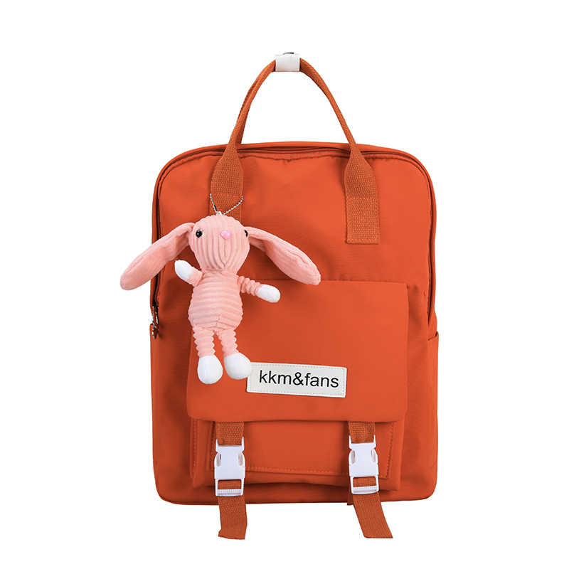 Waterproof Women Backpack Women Preppy School Bags For Teenagers Backpack Female Nylon Travel Bags Girls Bowknot Backpack