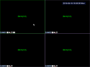 Image 4 - Enregistreur vidéo en réseau de vidéosurveillance H.265, 16 CH 1080P, NVR, 4 canaux, 5.0mp n XVI/AHD/CVI/TVI/CVBS/IP, 6 en 1, carte DVR hybride