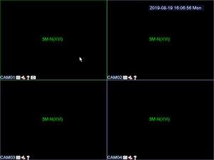 Image 4 - Сетевой видеорегистратор системы видеонаблюдения H.265 16 каналов 1080P NVR/4 канальный мп N XVI/AHD/CVI/TVI/CVBS/IP 6 в 1 гибридная плата DVR