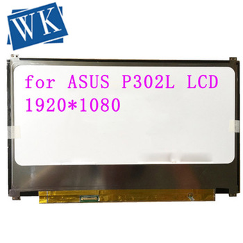 "13.3"" Laptop Matrix for ASUS P302L P302LA Non-Touch LCD Screen 30 Pins IPS FHD 1920X1080  Panel Replacement"