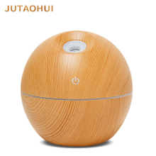JTH-013 USB Aroma Essential Oil Ultrasonic Cool Mist Humidifier Air Purifier 7 Color Change LED Night light for Office