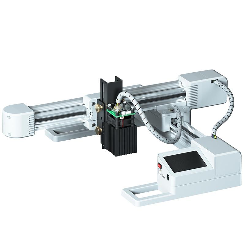 30W 20W DIY komputer grawer laserowy Logo Mark drukarki Cutter Carver maszyna do grawerowania 6.1*6.9 cal rzeźba obszar