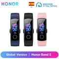 Оригинальный Honor Band 5 браслет Смарт-глобальная версия крови кислородом сенсорный монитор сердечного ритма, активно-матричные осид, Экран Во...