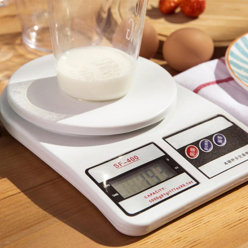 Портативные цифровые весы 1/5/10 кг, 1 г, электронные ЖК-весы, кухонные весы из стали, почтовые пищевые весы, измерительные весы, весы-0