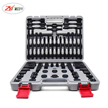 58pcs set M10 M12 M16 Multi function combined press plate of milling machine,Hardened combined pad iron for machining center