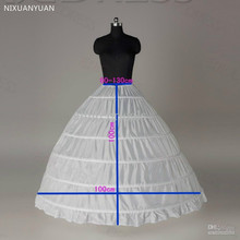 Petticoats Crinoline Underskirt Ball-Gown Wedding-Dress for Anagua-De-Vestido-De-Noiva