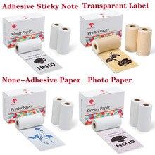 Phomemo Selbst-Adhesive Thermische Papier Druckbare Aufkleber Label Papiere für Phomemo M02/M02S/M02Pro Drucker für iphone foto Papier