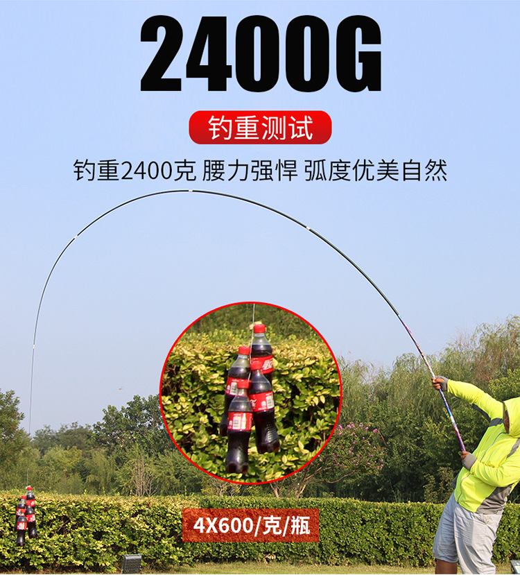 3.6m-7.2m modelo alimentador vara telescópica pólo 28