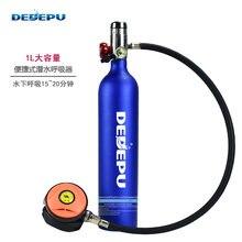 Оборудование для дайвинга dedepu 1 л кислородный баллон подводного