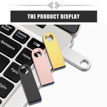 DASKA Usb bellek Disk Metal kalem sürücü 2.0 kalem sürücü 32GB 16GB 8GB 4GB 64GB 128GB yüksek hızlı Usb Usb bellek sürücü Flash bellek