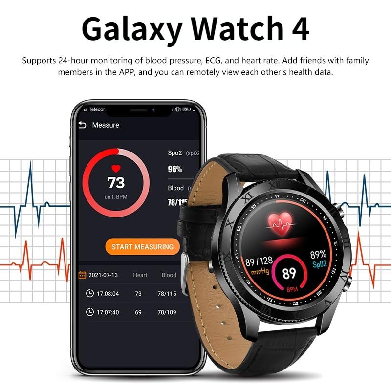 2021 Smart Watch Men Samsung Watch 4 Android Sports Smartwatches SW1 Huawei Men's Fitness Bracelet Samsung Bluetooth Call Watch