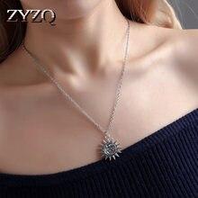 ZYZQ-diseño Vintage Simple de sol y diseño de Luna, con patrón geométrico, regalo de aniversario, accesorios de venta directa de fábrica