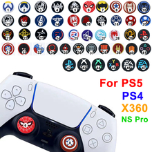 50colos Wholesale Controller Thumb Silicone Stick Cap Grip for PS4 PS5 XBOX One 360 X S Switch Pro Controllers Game Accessory