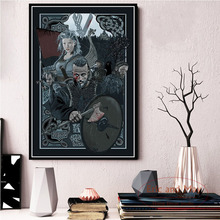 Poster And Prints Vikings Classic TV Series Show Season Classic New Art Painting Canvas Wall Pictures For Living Room Home Decor