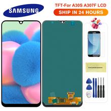 Do Samsung Galaxy A30S wyświetlacz LCD z ekranem dotykowym Digitizer zgromadzenie dla Samsung A30s A307 A307F A307G A307YN ekran wyświetlacza tanie tanio Pojemnościowy ekran 1520x720 3 For Samsung Galaxy A30S LCD LCD i ekran dotykowy Digitizer 6 4 inch Black 6 months Tested before shipment