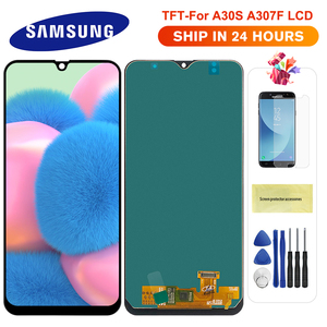 For Samsung Galaxy A30S LCD Touch Screen Digitizer Assembly Display For Samsung A30s A307 A307F A307G A307YN display screen