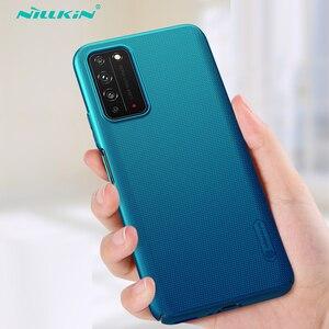 Для Huawei Honor X10 5G чехол Nillkin Супер Матовый Защитный Ультратонкий Жесткий ПК задняя крышка для Huawei Honor X10 матовый чехол для телефона
