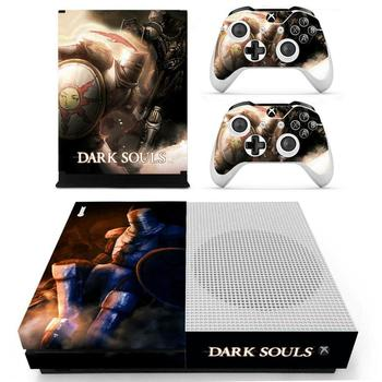 Dark Souls Skin Sticker Decal Cover For Xbox One S Console & Kinect & 2 Controllers For Xbox One Slim Skins Stickers Vinyl 2