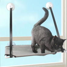 Cat Hammock Window Bed Pet Summer Hammock Bed Home Bed Living Room Suction Cup Wall Hanging Pet Mesh Breathable Hammock Bed