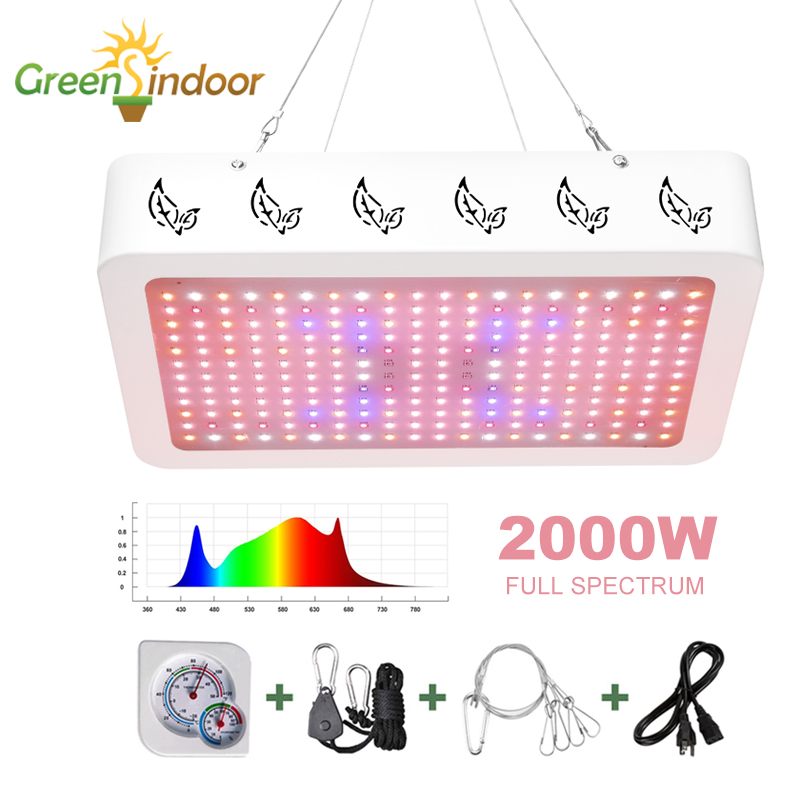 Indoor LED Grow Light Panel 3500K Phyto Lamp For Plants Full Spectrum 6500K Led Grow Tent Daisy Chain Lamps For Medical Plants