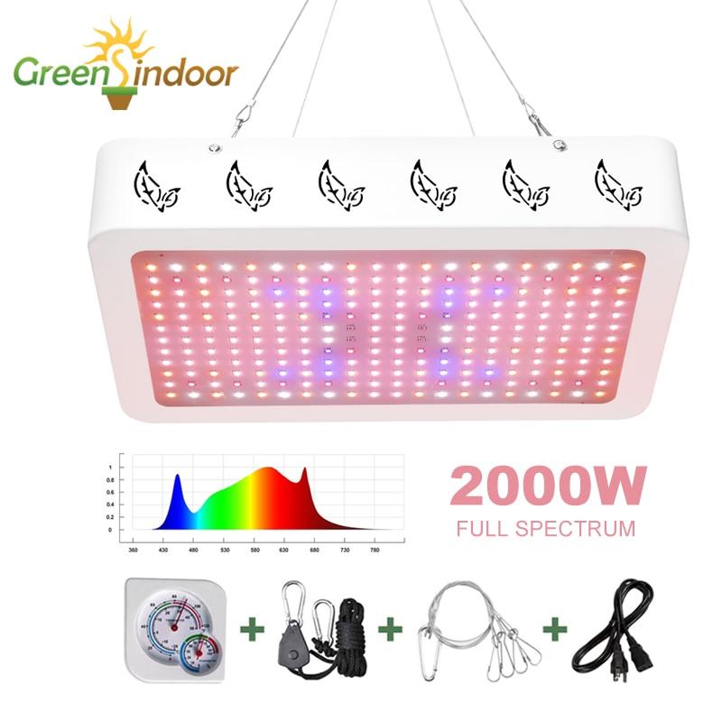 Indoor LED Grow Light Panel 3500K Phyto Lamp For Plants Full Spectrum 6500K Led Grow Tent Daisy Chain Lamps For Medical Plants