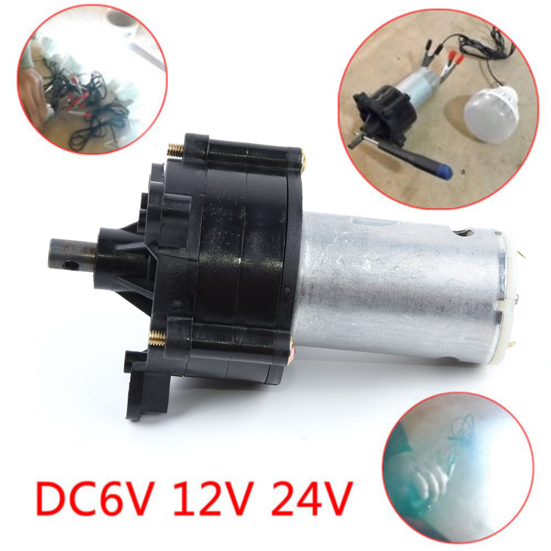 1pc Wind Turbine Generator Kit Micro Hand Dynamo generator DC 5v/6v/12v/ 24v 1500mA 20W Generator Motor Power Supply tot sales